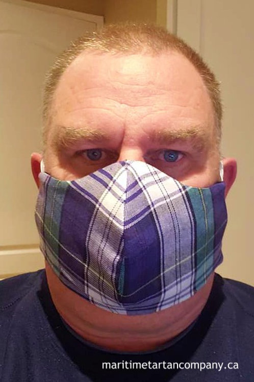Dress Campbell Tartan Face Mask - ALLOW UP TO 10 BUSINESS DAYS FOR SHIPPING
