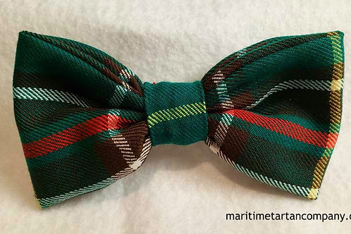 Newfoundland Tartan Clip On Bow Tie (Adult)