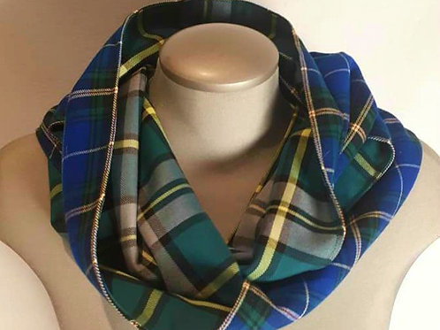 2 Tartan scarf (Infinity) SOLD OUT