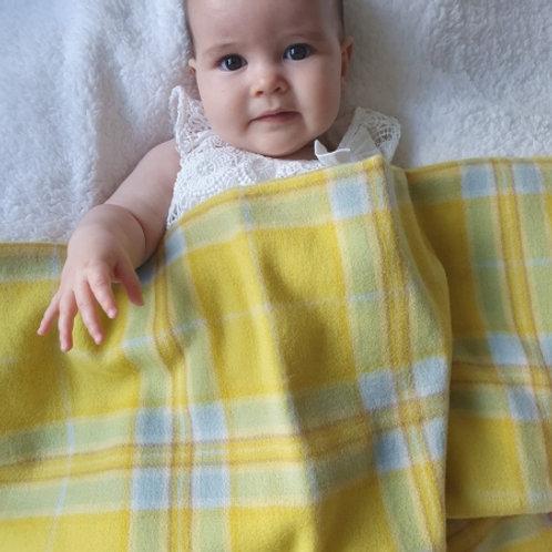 Little Lamb Lambswool Baby Blankets Sunflower Yellow