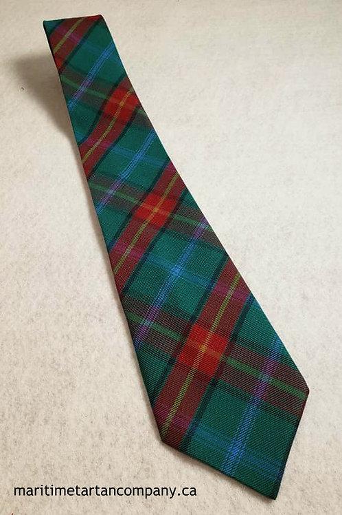 Manitoba Tartan Tie (Adult)