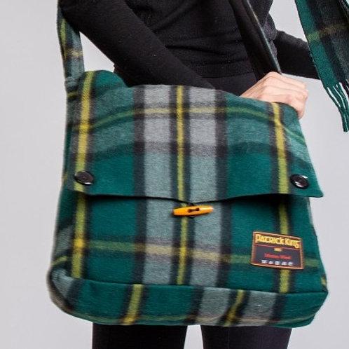 Cape Breton Tartan Merino Wool Keri Messenger Bag