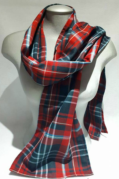 New Brunswick Tartan 6 foot light scarf