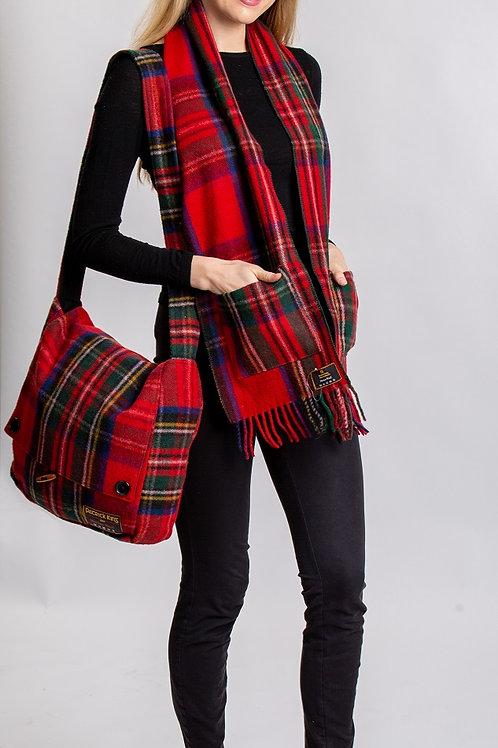 Royal Stewart Tartan Wool Pocket Scarf