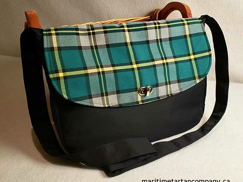 Cape Breton Tartan Messenger Bag
