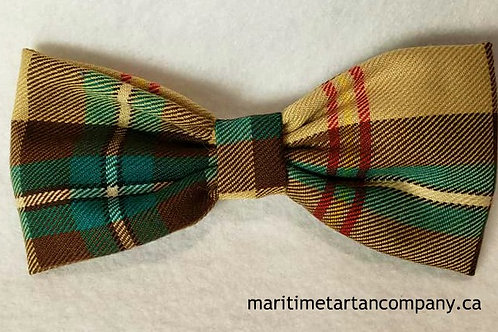 Saskatchewan Tartan Clip On Bow Tie (Adult)