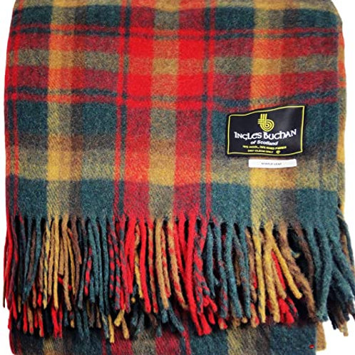 Ingles Buchan Tartan Wool Throw (Family / Other)