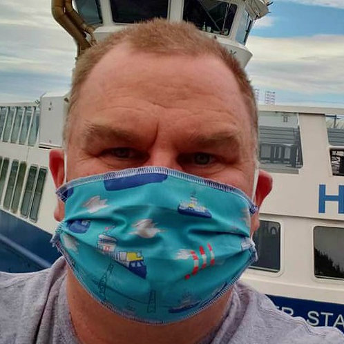 Halifax / Dartmouth Ferry Face Masks - ALLOW UP TO 10 BUSINESS DAYS FOR SHIPPING