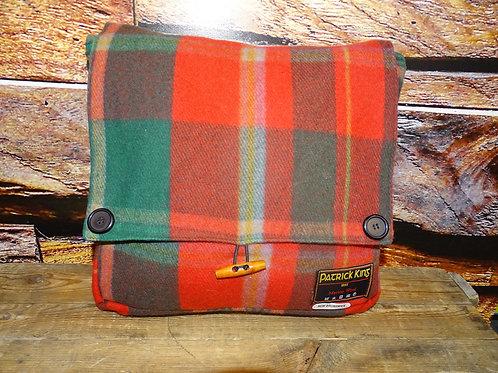 New Brunswick Tartan Merino Wool Keri Messenger Bag