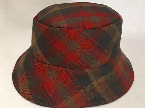 Canadian Maple Tartan Bucket Hat