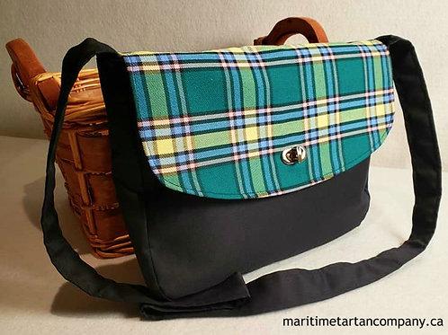 Alberta Tartan Messenger Bag
