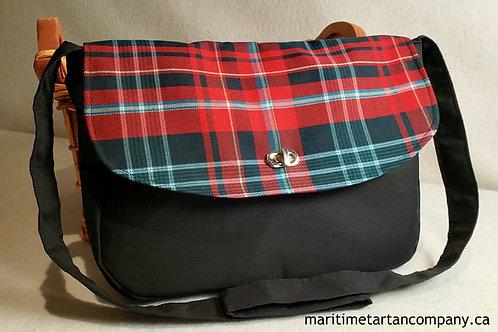 New Brunswick Tartan Messenger Bag
