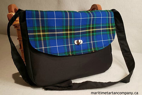 Nova Scotia Tartan Messenger Bag