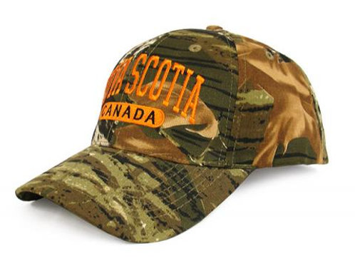 Nova Scotia Camo Hat - Adult Size