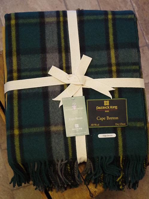 Cape Breton Tartan Deluxe Merino Wool Blanket $109.99
