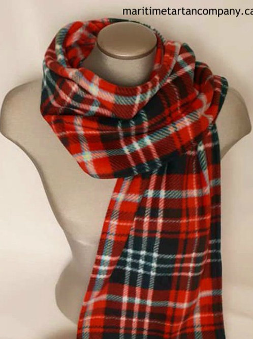 New Brunswick Tartan 6 Foot Fleece Scarf