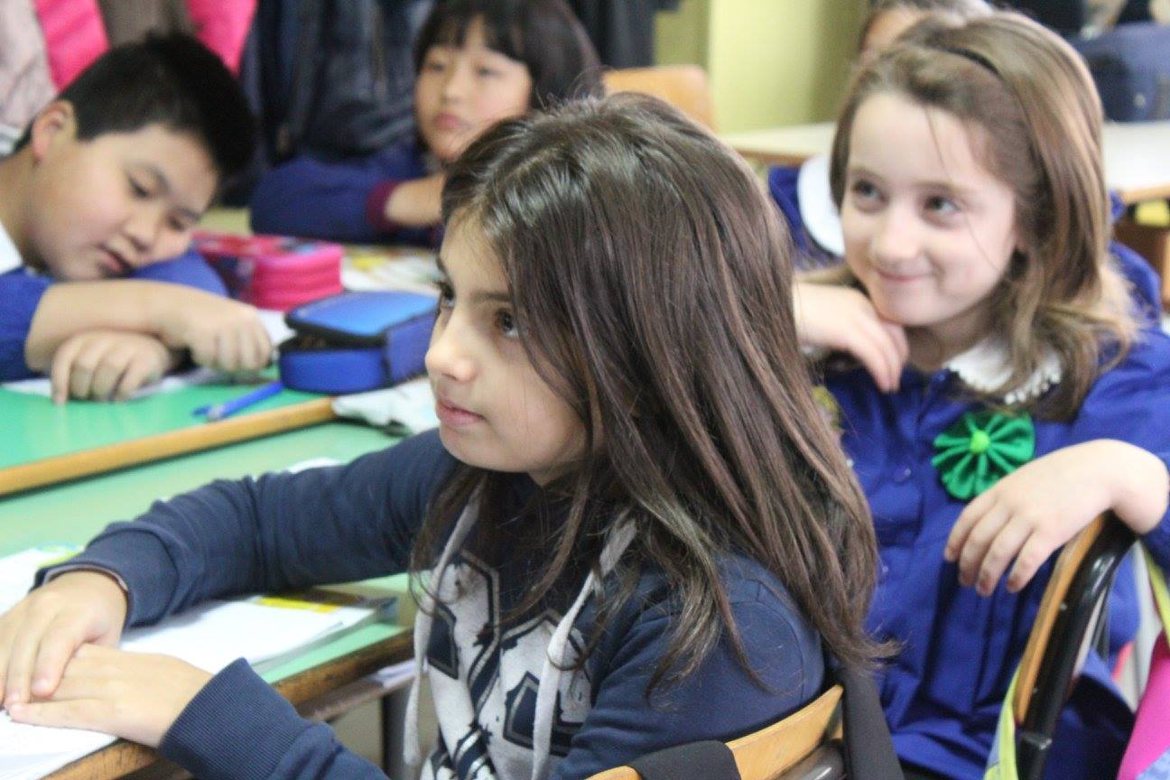 Pupils of Erodoto School