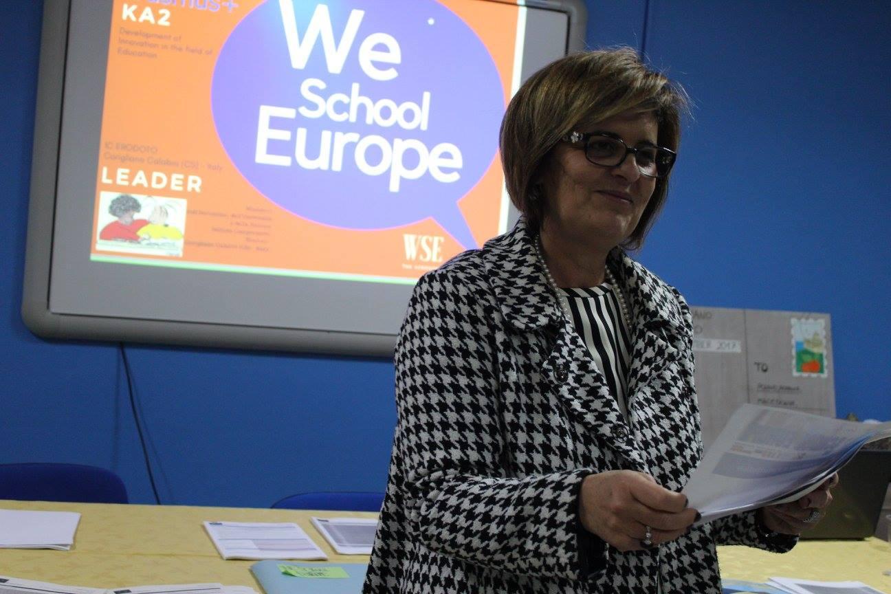 Mrs Susanna Capalbo, Headmaster