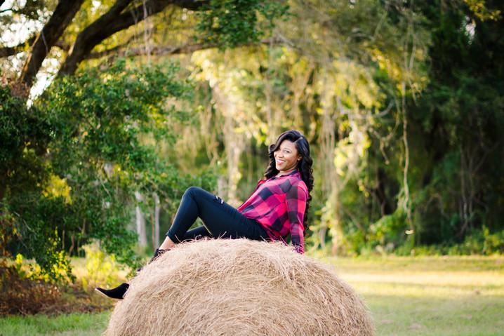Aaliyah Percin   Lafayette, LA Portrait Session