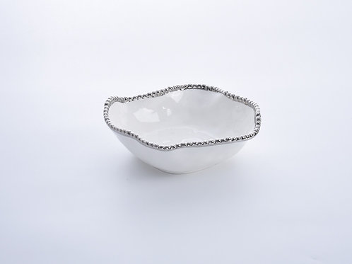 White Low Bowl