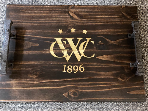 Golf Club Large Personalized Trays