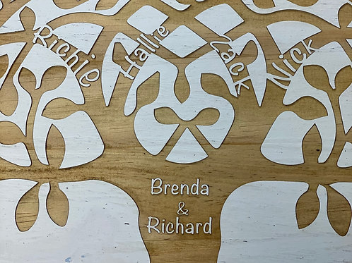 Family Tree Small Lazy Susan