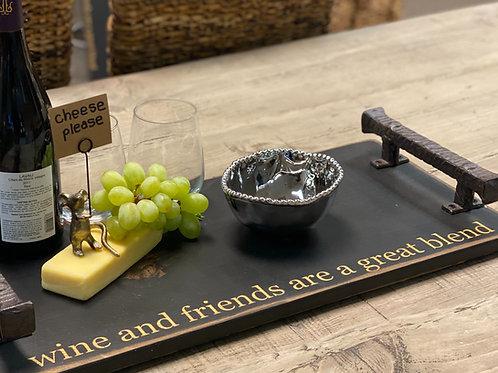 Wine & Friends Small Tray