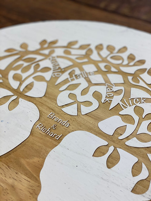 Family Tree - Small Lazy Susan