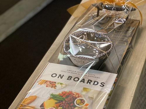 Realtor Bites Board Gift Package