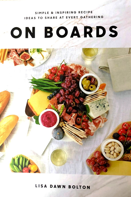 On Boards - Our Fav Charcuterie Book!