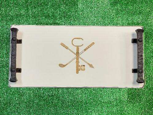Golf Club Small Personalized Trays
