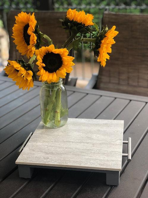 Small Stone Gray Tray