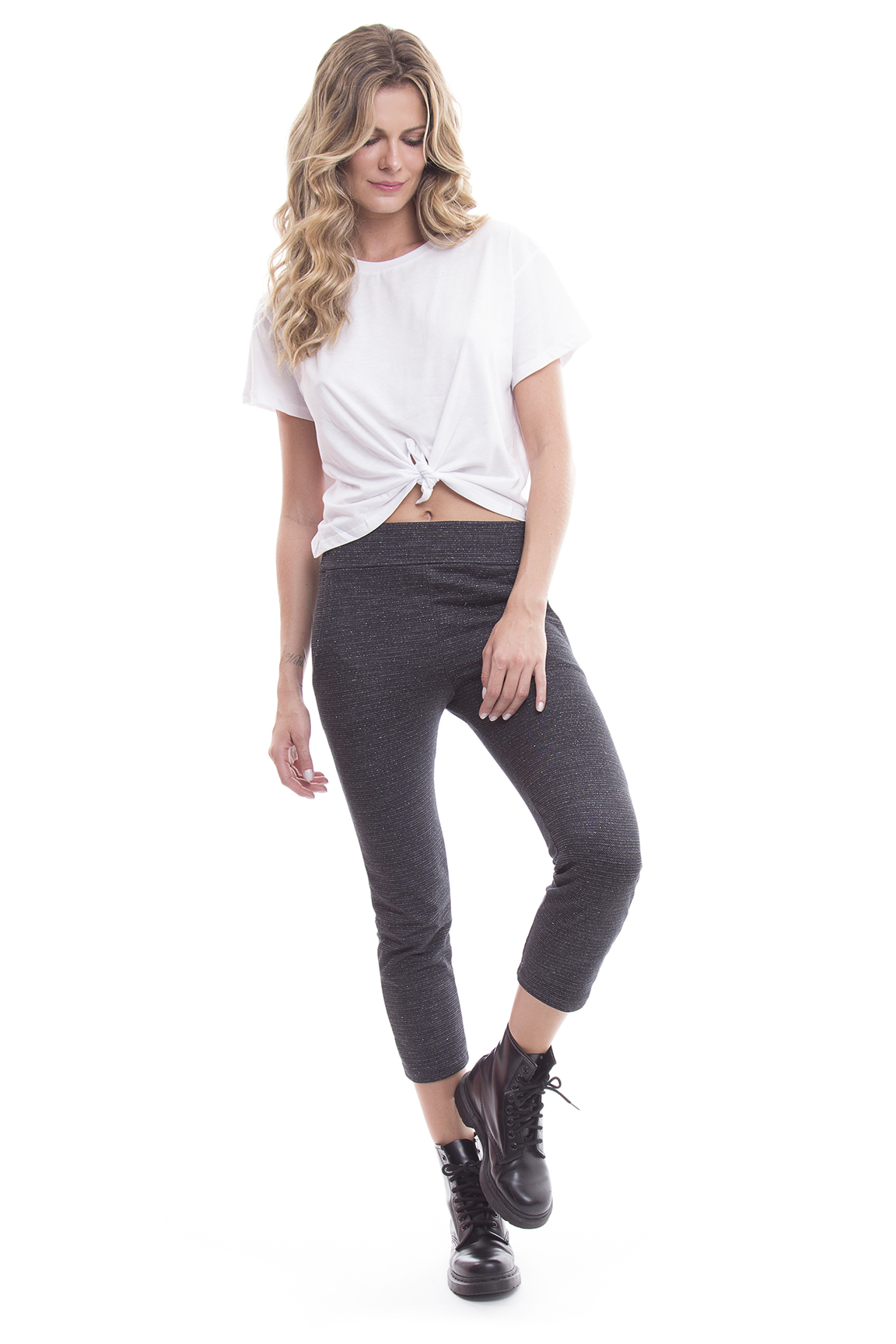 Tee Cropped Basic e Cropped Carl