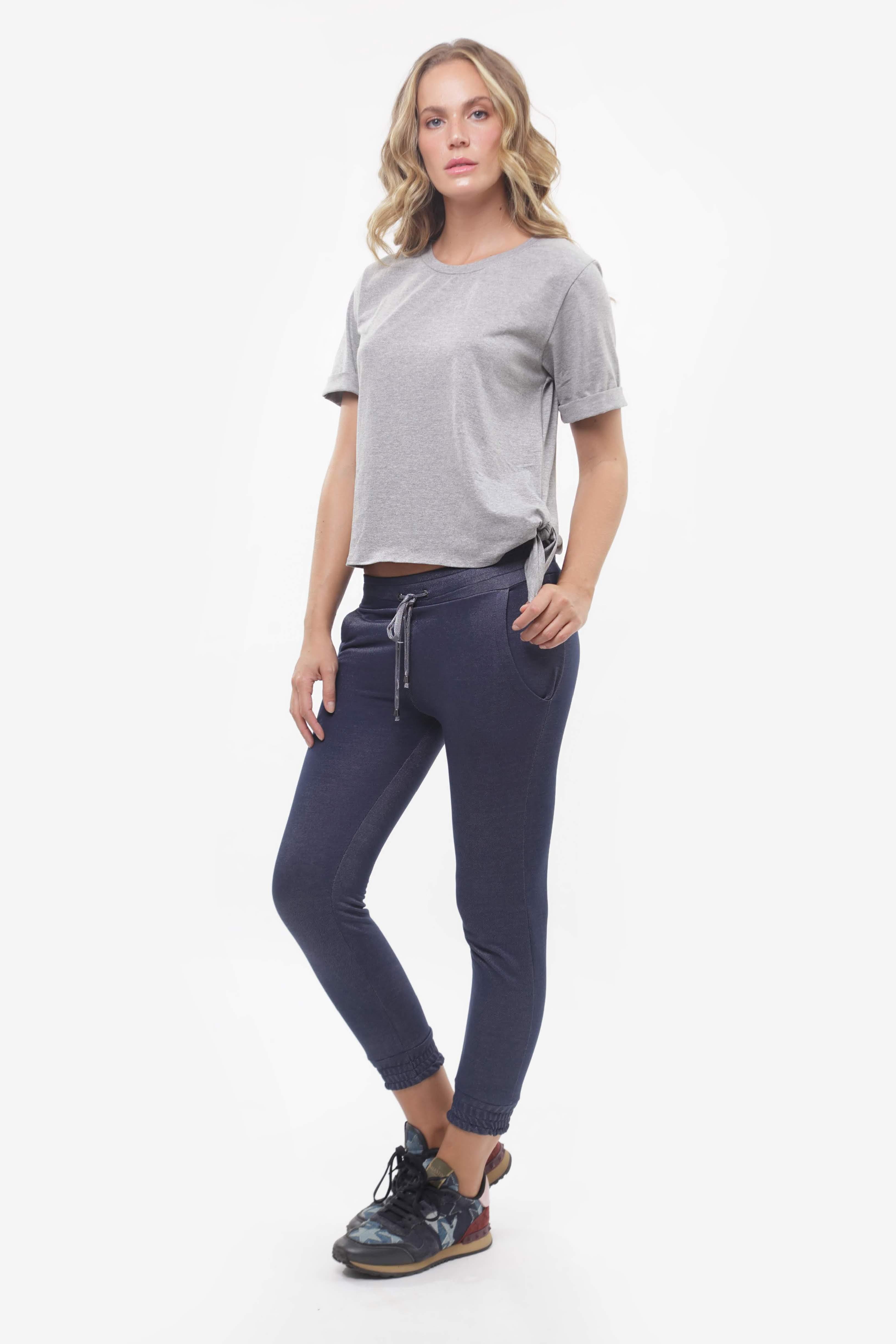 Tshirt Carneiros e Jogger Jeans