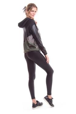 Jaqueta Geo e Legging Basic