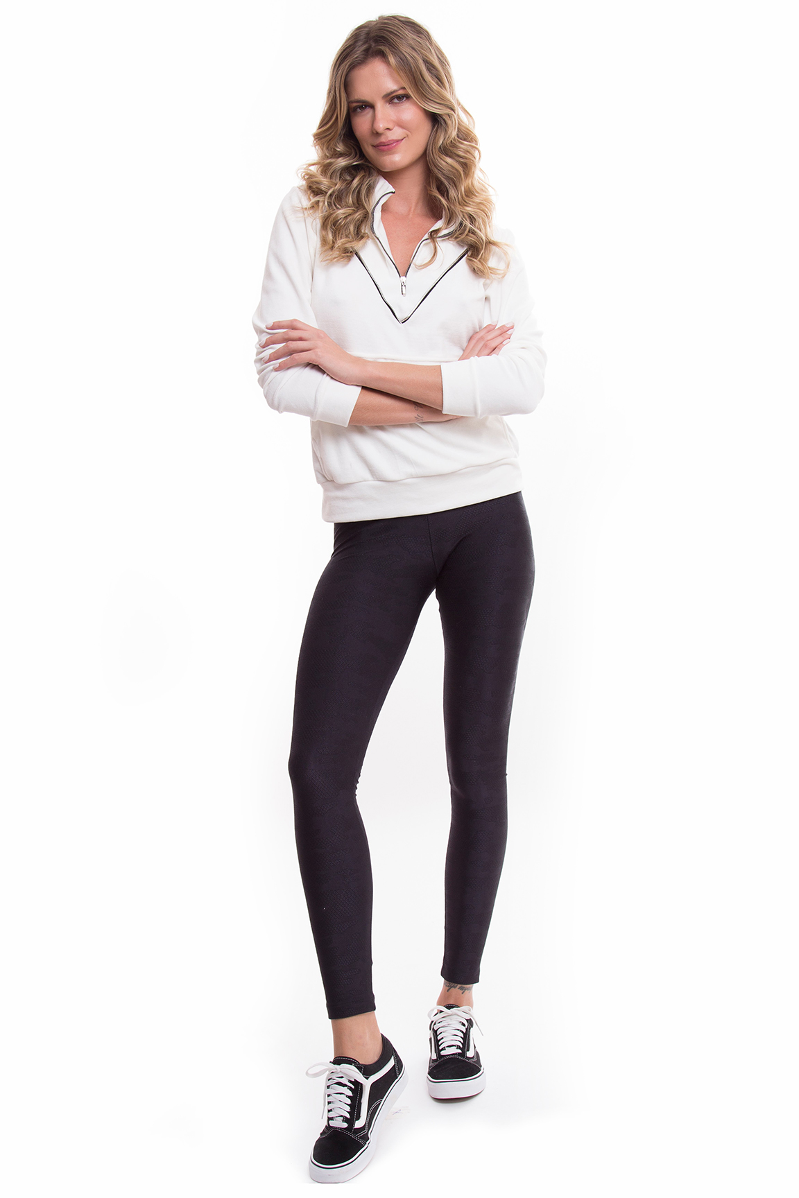 Moleton Mis e Legging Army Basic