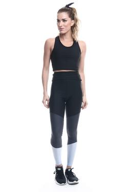 Croppped Gym e Legging Melrose