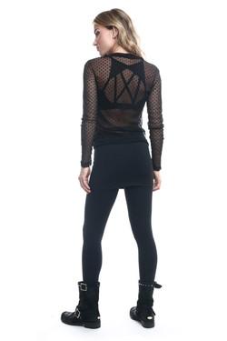 Blusa Skin Tule, Top Luz e Legging Saia