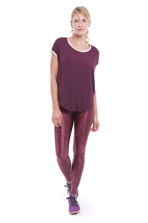 T-Shirt Moon 18 e Legging Pesponto
