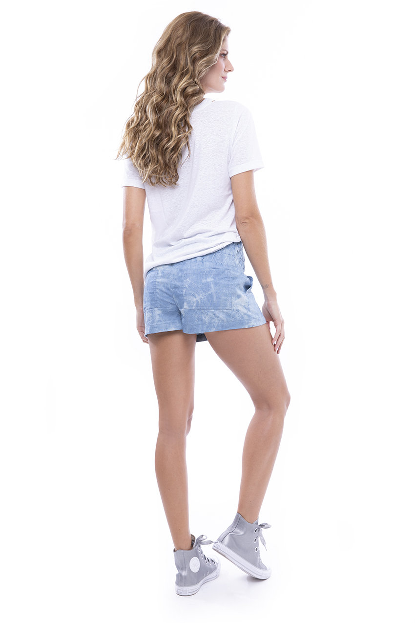 Tshirt Podrinha Side e Short Jeans