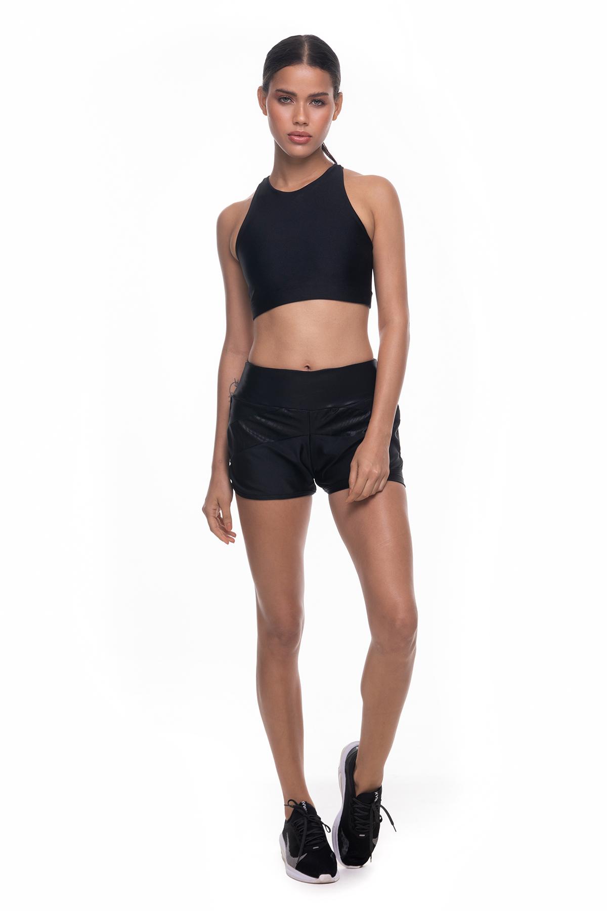 Top Built e Shorts Tarsila