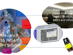 Novax presents at ITE IMSA 2015 Session on Smart Streets, Peds, Bikes and Connected Vehicles
