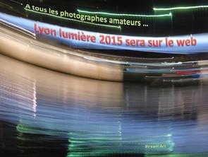 Lyon Lumières 2015 sur le web