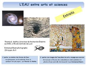 Conférence EAU entre arts et sciences