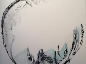 Sylvie Samy expose à Lyon dans sa galerie: L'envers du vide