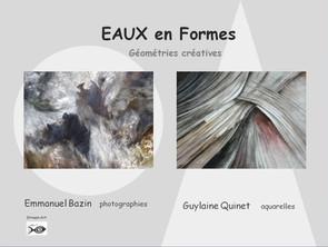 Exposition EAUX en Formes - Géométries créatives