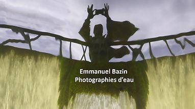 emmanuel bazin, stream, art, contact, eau,
