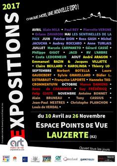 Expo Lauzerte Stream Art
