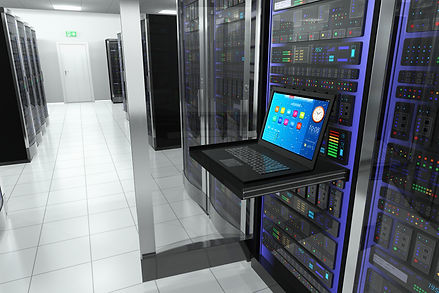 bigstock-Terminal-in-server-room-4981255