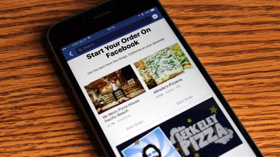 Now, 'Order food' Directly from Facebook!